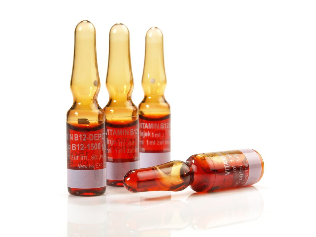 Vitamin B12 Injection Vial